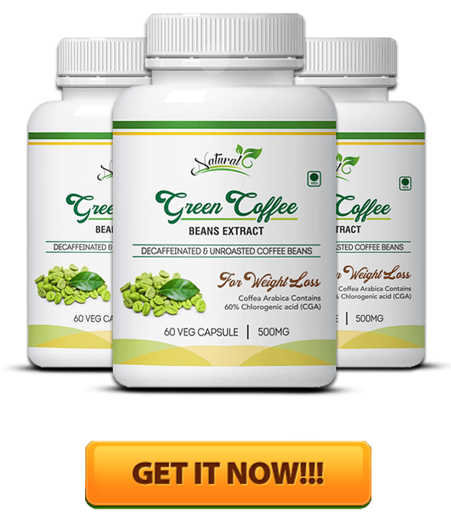Green Coffee Bottles